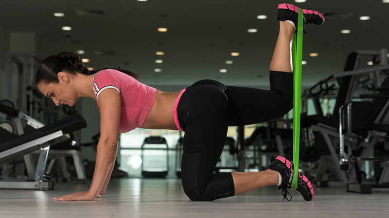 6 Butt-Lifting Exercises Using a Resistance Band